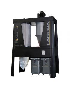 Laguna T Flux 10hp 1-Micron Industrial Cyclone Dust Collector