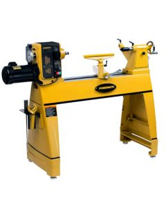 Powermatic 3520C Lathe with Legs and 6'' Riser Blocks, 2HP, 220V, 1-Phase