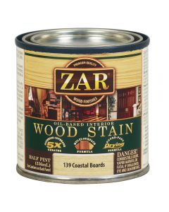 ZAR® Oil-Based Wood Stain, 139 Coastal Boards, Half-Pint