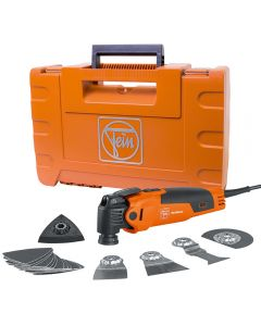 Fein FMM350QSL MultiMaster Oscillating Multi-Tool with QuickStart Kit and Hard Case