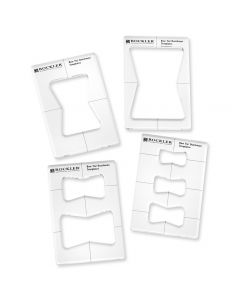 Butterfly Key Inlay Template Set With Inlay Bushing and Bit