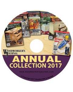 Woodworker's Journal Annual Collection 2017 CD