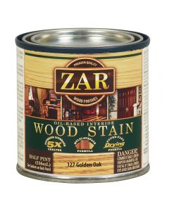 ZAR® Oil-Based Wood Stain, 127 Golden Oak, Half-Pint