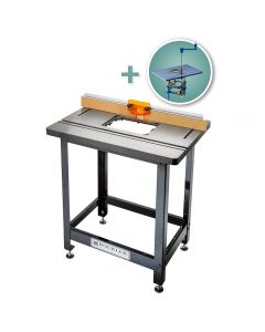 Bench Dog Cast Iron Router Table, Pro Fence, Steel Stand & FX Router Lift