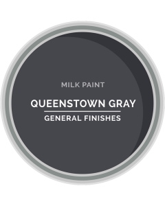 General Finishes Queenstown Gray Milk Paint, Pint