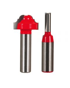 Freud® 98-329 French Door Grill Router Bit Set, Cove and Bead