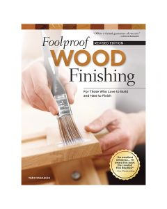 Foolproof Wood Finishing, Revised Edition, Book