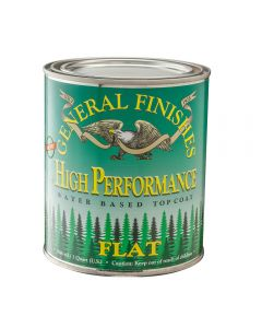 General Finishes High Performance Water-based Top Coat Flat