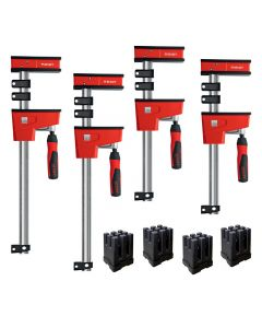 Bundle and save with this clamp package from Bessey, including (2) 24'' and (2) 40'' clamps, plus (4) KP blocks for easy, accurate frame assemblies.