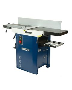 Unique, one-piece jointer tables easily lift up and out of the way for planer use, or to work on the cutter head.