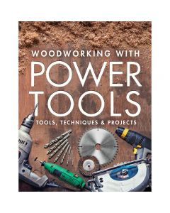 "Photo of the cover of the book ""Woodworking with Power Tools"""