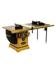 Powermatic PM2000B Table Saw, 5HP 3-Phase 230/460V, 50'' Rip Accu-Fence & Router Lift