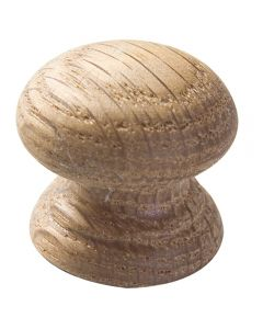 Cherry Unfinished Wood Face Grain Knobs