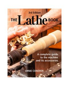"Cover of the Book ""The Lathe Book, 3rd Edition"" by Ernie Conover."