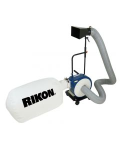 1 HP portable dust collector #60-105 is a great size and adaptable for many uses that a small shop encounters.