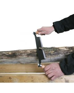 Quickly shaves bark and shapes wood with an easy pulling motion—8'' blade is ideal for medium-sized workpieces.