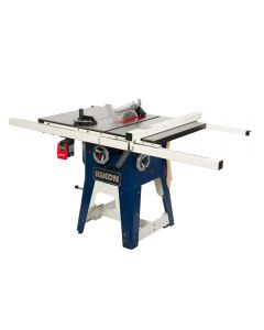 10 In. left tilt contractor table saw #10-201 is a no nonsense machine whose simplicity is the strength behind its popularity with home craftspeople and professional workshops.