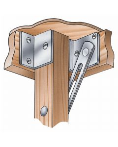 Rockler Card Table Leg Brackets