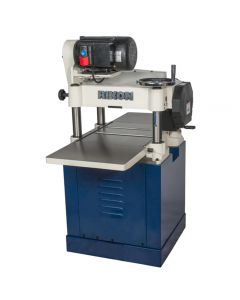 15 In. helical head planer #23-150H also uses a big 3 HP motor for running its 4-row helical cutterhead with 72 carbide, 4-sided insert cutters.