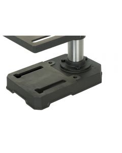 8 In. bench top drill press #30-100 is a small size machine that is popular with craftspeople and hobbyists that do not need a lot of power or capacity when drilling small holes in their projects.