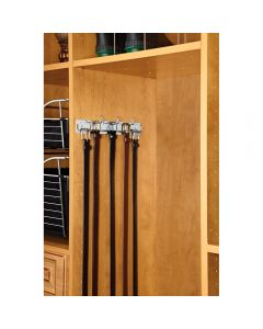 If you are looking for a tie, scarf, valet or belt organizer then Rev-A-Shelf has you covered.