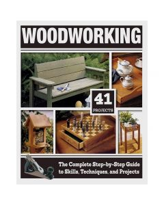 "Cover of the book ""Woodworking - 41 Projects"""