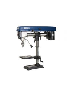 34 In. bench top radial drill press #30-140 provides great versatility for drilling of projects that are not so large as to require a floor model.