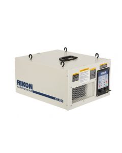 1/6 HP air filtration system #62-400 is very effective for smaller sized shops with its air flows of 300, 350 or 400 CFM.