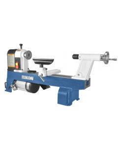 12 In. x 16 In. Mini lathe #70-100 is a perennial favorite of beginning turners because of its simple design, but also for the sturdy construction that will last for years of reliable use.
