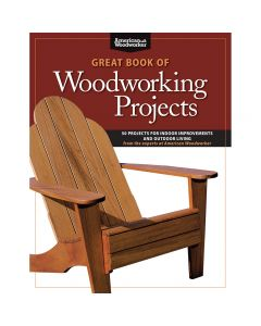 "Cover of the book ""Great Book of Woodworking Projects"""