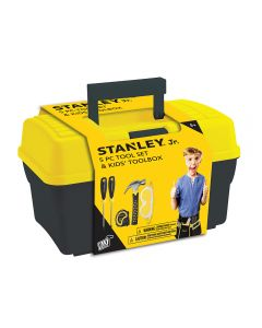 Stanley Jr. Tool Box and 5-Piece Tool Set