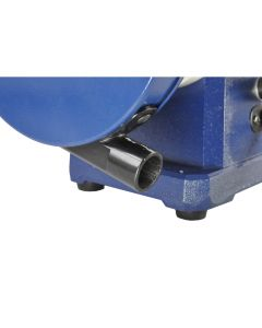 1 HP low speed bench grinder #80-808 is a larger size motor and will tackle the tough grinding jobs that are typical in production shops, as well as the finesse shaping and sharpening of hand tools.
