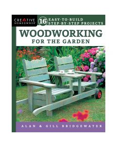 "Cover of the book ""Woodworking for the Garden"" by Alan & Gill Bridgewater."