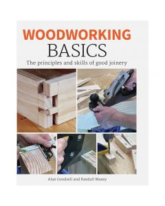 "Cover of the book ""Woodworking Basics"" by Alan Goodell and Randall Maxey"