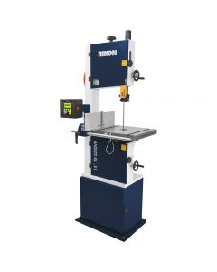 Rikon's10-326DVR Deluxe Bandsaw features several unique innovations that promise enhanced accuracy and ease-of-use.