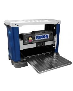 13 In. Bench top planer #25-130H features a six row helical-style cutter head and 26 HSS insert cutters.