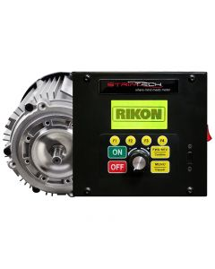 Rikon and Striatech have teamed up to develop the world's first DVR smart bandsaw motor, which is compatible with Rikon bandsaw models 10-324, 10-325, and 10-326.