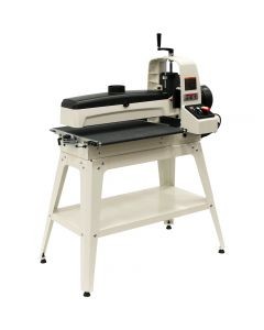 Sand panels up to 50'' wide in just two easy passes with the Jet JWDS-2550 Drum Sander.
