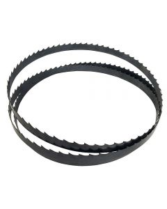 These 124'' Rikon bandsaw blades are compatible with a range of saws, including the Rikon 10-350 and 10-351 Bandsaws.