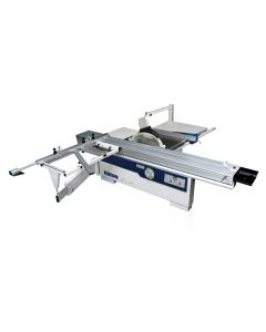 The 11-315X panel saw is the starting point of the Rikon industrial sliding table saws.
