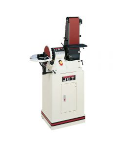 Jet® Combination 6'' x 48'' Belt & 9'' Disc Sander w/Closed Stand