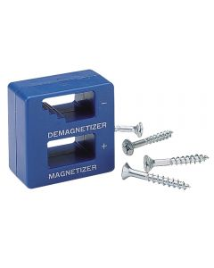 Magnetizer / DeMagnetizer - Ideal for both magnetizing and demagnetizing metal or steel tools, especially screwdrivers.