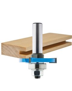 "Rockler 3 Wing Slotting Cutters Router Bits - 1/2"" Shank"
