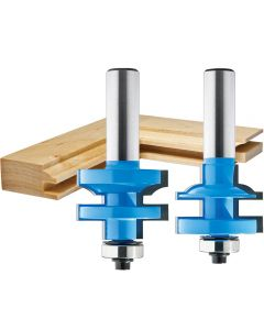 """Rockler Bead Stile and Rail Router Bit - 1-3/8"""" Dia x 1"""" H x 1/2"""" Shank"""