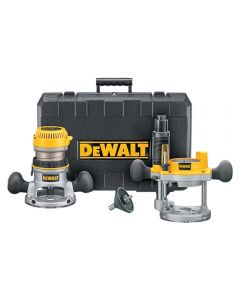 Dewalt DW616PK Heavy-Duty 1-3/4 HP maximum motor HP Fixed Base / Plunge Router Combo Kit