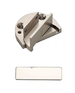 Pivot Type Inset Glass Door Hinge, GP-40 - Satin Nickel