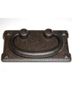 Rust Mission Plate Handle