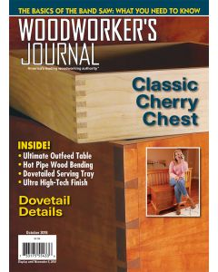 Woodworker's Journal – September/October 2018