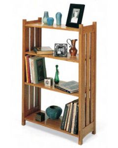 Slatted Bookcase Downloadable Plan