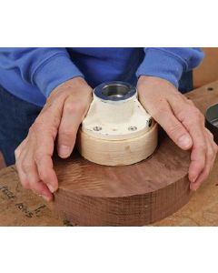 Using Glue Blocks for Woodturning Downloadable Technique
